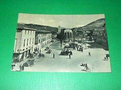 Cartolina Rieti - Piazza Cavour 1958 - Rieti