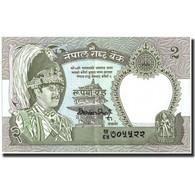 Népal, 2 Rupees, Undated (1981), KM:29c, NEUF - Nepal