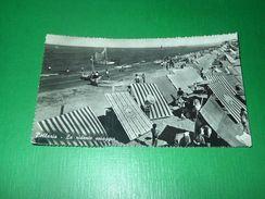 Cartolina Bellaria - La Ridente Spiaggia 1960 - Rimini