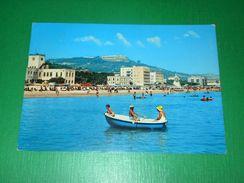 Cartolina Silvi Marina - La Spiaggia 1977 - Teramo