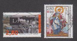France Oblitérés - N° 2851 Et 2853 Dont Croix Rouge -1993 -TB - Frankreich