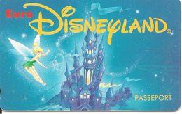PASS-EURODISNEYLAND-1994-FEE CLOCHETTE-VGS-00012-TBE - Pasaportes Disney