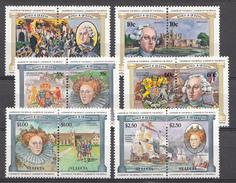 St. Lucie 1984 Mi. Nr.:632-643 Englische Monarchen  Neuf Sans Charniere / Mnh / Postfris - St.Lucie (1979-...)