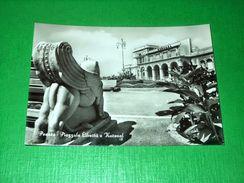 Cartolina Pesaro - Piazzale Libertà E Kursaal 1954 - Pesaro