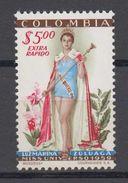 Colombia Mi# 851 ** MNH Miss Universum 1959 - Colombia