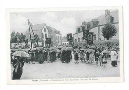 SCAER (29) Bénédiction Du Saint Sacrement à La Croix De Mission - France