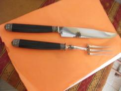 Ancien Courvert A Gigot,,Marque Delaye Millau,pseudo Virolle En Argent - Dishware, Glassware, & Cutlery