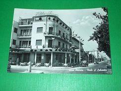 Cartolina Torre Pedrera - Viale S. Salvador 1962 - Rimini