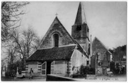 Noailles Oise  L'église Animation 1930 état Superbe - Liechtenstein