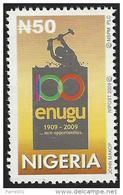 Nigeria 2009 Coal Mining Opened In 1909 In Enugu MNH Mint - Nigeria (1961-...)