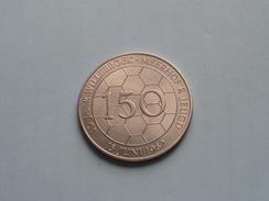 10 Jaar WILLEBROEK  - MEERHOF'R JEUGD ( 7587 ) ( Zilverkleur > 35 Mm. - Details, Zie Foto ) - Tokens Of Communes