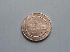 100 Jaar ROYAL ANTWERP BICYCLE CLUB - 1882-1982 - 100 Wielen ( Zilverkleur > 35 Mm. - Details, Zie Foto ) - Tokens Of Communes