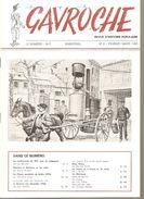 GAVROCHE REVUE D'HISTOIRE POPULAIRE N°8 Bimestriel De Février-Mars 1983 - Histoire