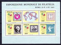 ITALIE BLOC ET FEUILLET 1985 YT N° BF 2 ** - 6. 1946-.. Repubblica