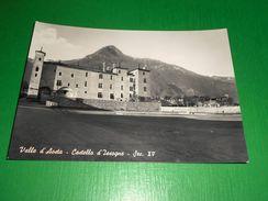 Cartolina Valle D' Aosta - Castello D' Issogne 1955 Ca - Italy