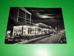 Cartolina Rimini - Lido - Notturno 1956 - Rimini
