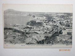 Postcard Oran Vue Generale Prise De Djebel Mourdjadjo Algeria My Ref B11415 - Oran