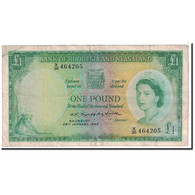 Rhodesia And Nyasaland, 1 Pound, 1960, 1960-01-29, KM:21a, TTB - Rhodésie