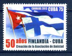 Cuba 2013 / Flags Finland Diplomatic Relations MNH Banderas Flagge /  C5724  38 - Sellos
