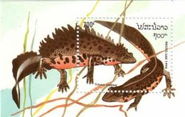 Laos 1994 Reptile Souvenir Sheet MNH ! - Reptiles & Batraciens