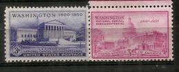 USA: Le Capitole Et La Cour Suprème à Washington DC (architectes Cass Gilbert & William Thornton) Neufs ** - Monuments