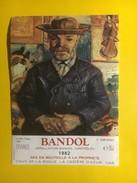 4384 - Bandol 1982 Le Père Tanguy  Nocture Van Gogh - Art