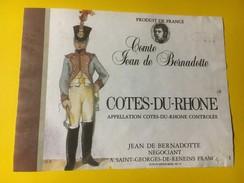 4385 - Côtes-du-Rhône Comte Jean De Bernadotte - Côtes Du Rhône