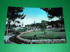 Cartolina Acquaviva Delle Fonti ( Bari ) - Giardini Pubblici 1960 - Bari