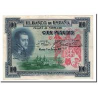 Espagne, 100 Pesetas, 1925, KM:69c, 1925-07-01, SUP - [ 1] …-1931 : First Banknotes (Banco De España)