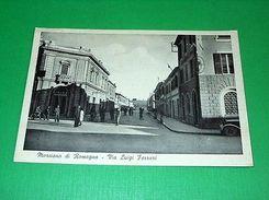 Cartolina Morciano Di Romagna - Via Luigi Ferrari 1941 - Rimini