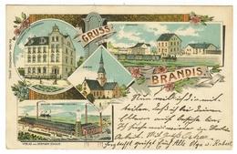 Allemagne // Deutschland // Saxe //   Grüss Aus Brandis - Brandis
