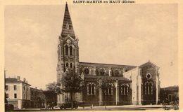 (39) CPA  Saint Martin En Haut    (Bon Etat) - Altri Comuni