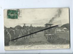 """CPA-Exposition Internationale Et Concours De Labourage Mécanique - Bourges 1912 """"Case De France- Paris (tracteur Ancien) - Bourges"""