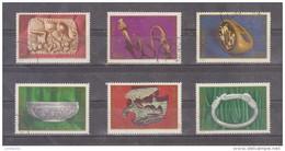 1978 -  Archeologie Daco - Romane En Moldavie Mi No 3548/3553 Et Yv No 3133/3138 - 1948-.... Republiken