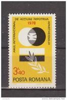 1978 -  Anne Int. L Aparheid Mi No 3555 Et Yv No 3147 - 1948-.... Republiken