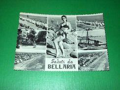 Cartolina Saluti Da Bellaria - Vedute Diverse 1958 - Rimini