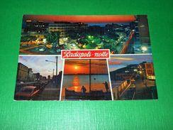 Cartolina Ladispoli - Vedute Diverse ( Notturno ) 1975 - Roma