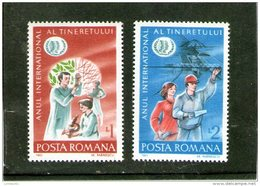 1985 - Anne Inter. De La Jeunesse Mi 4130/4131 Et Yv 3561/3562 MNH - 1948-.... Républiques