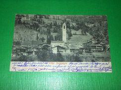 Cartolina Villar Sampeyre ( Cuneo ) - Scorcio Panoramico 1903 - Cuneo