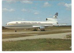 American Trans Air - Lockheed L-1011-1 At Stockholm Arlanda - Avion - Airplane - Flugzeug - Air Plane - 1946-....: Moderne