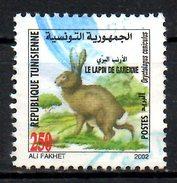 TUNISIE. N°1451 Oblitéré De 2002. Lapin. - Lapins