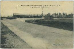 Circuit De Picardie. Grand Prix De L'A.C.F.. Virage à L'arrivée Des Tribunes. 1913. Course Automobile. - Autres