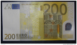 200 EURO E001H4 Germany Serie X03 Perfect UNC - EURO