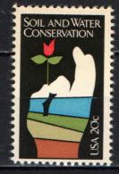 STATI UNITI - 1984 - MOVIMENTO PER LA CONSERVAZIONE DEL SUOLO E DELL'ACQUA - NUOVO MNH - Vereinigte Staaten