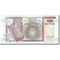 Burundi, 50 Francs, 1994, KM:36a, 1994-05-19, NEUF - Burundi