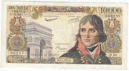 10000 Francs Bonaparte Type 1955, F51.08, P136, 06/06/1957, O.80, TTB - 1871-1952 Anciens Francs Circulés Au XXème