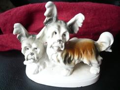 2 Yorkshire Terrier Porzellanfigur  (482) - Ceramics & Pottery