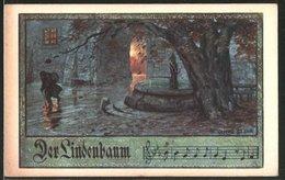Künstler-AK Franz Jung-Ilsenheim: Der Lindenbaum - Jung