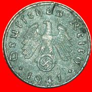 § SWASTIKA: GERMANY ★ 5 PFENNIG 1941A! LOW START★ NO RESERVE! - 5 Reichspfennig