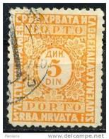 PIA - YUG - 1923-31 - T. Txe - Segnatasse - Post Pay -  (Un T.T. 72) - Postage Due